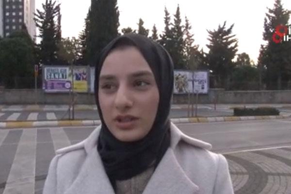 Saldırıya uğrayan başörtülü öğrenci konuştu: Ceza yeterli değil