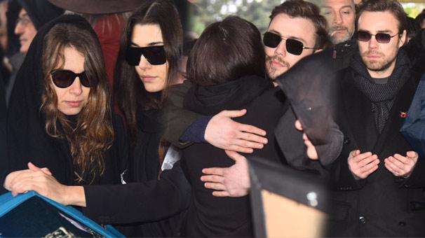 Hande Erçel'in annesi sonsuzluğa uğurlandı
