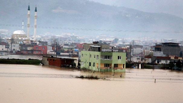 O ilimizde metrekareye 203 kilogram yağış düştü