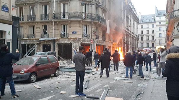 Son dakika... Paris'te patlama!