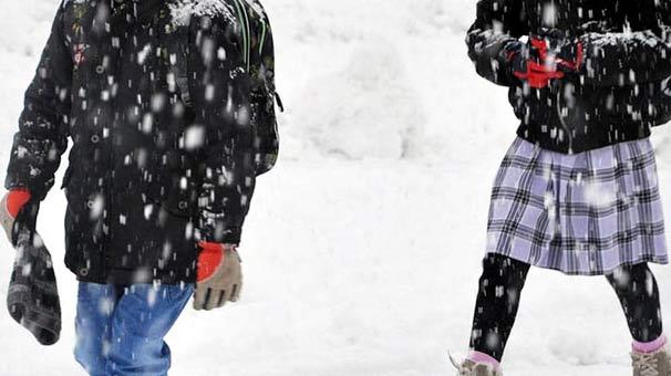 Son dakika | Eğitime kar engeli! Okullar tatil edildi...