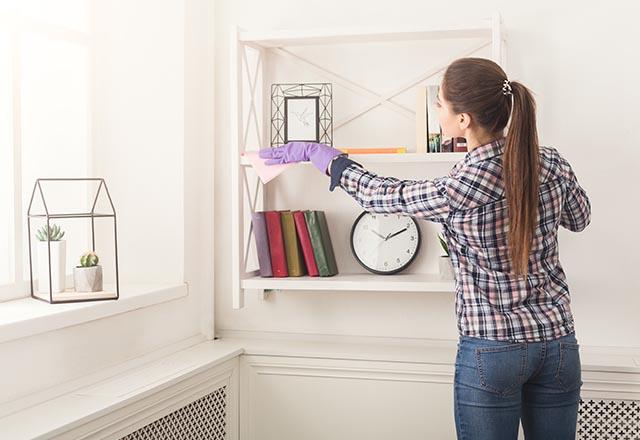 Evinizi kısa sürede temiz göstermenin püf noktaları