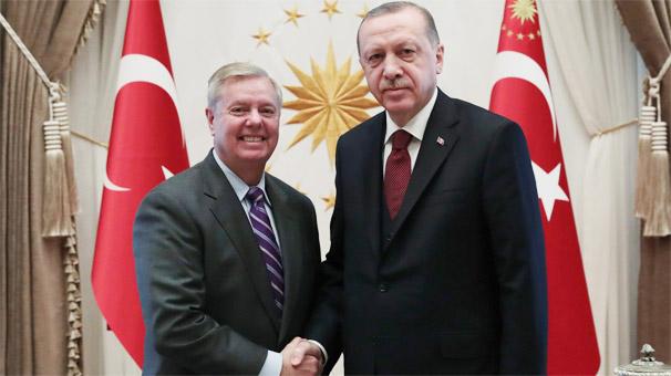 Son dakika... Cumhurbaşkanı Erdoğan, ABD'li senatör Graham'ı kabul ediyor