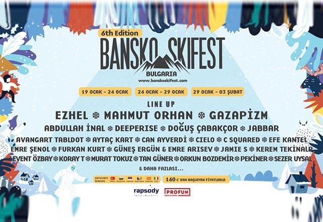 Türkiye'nin global kış festivali Bansko Skifest 6 yaşında!