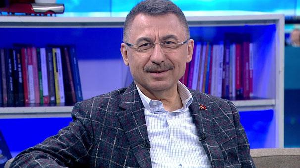Cumhurbaşkanı Yardımcısı Oktay CNN  TÜRK'te önemli açıklamalar yapıyor