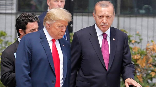 Cumhurbaşkanı Erdoğan'dan Trump'a: Hazırız!