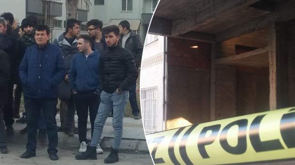 İnşaat halindeki binanın çatı katında korkunç olay! Oynayan çocuklar görünce şoke oldular...