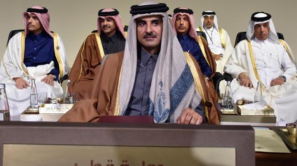 Katar Emiri son dakika değişikliğinin nedenini açıkladı