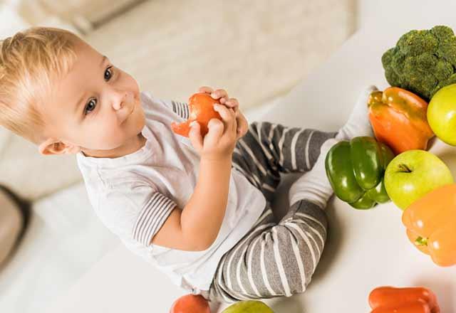 Bebeklere sebzeyi sevdirmenin 5 yolu