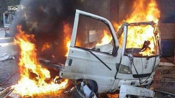 Lazkiye'de bomba yüklü araç saldırısı!<br>Çok sayıda...