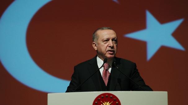 Son dakika... Cumhurbaşkanı Erdoğan'dan Milli Harita Tanıtım Töreni'nde önemli açıklamalar