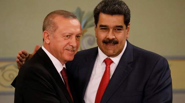 Son dakika | Cumhurbaşkanı Erdoğan: Maduro kardeşim! Dik dur, yanındayız