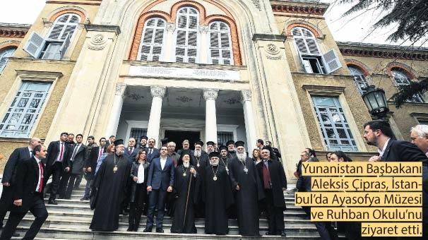 Yunan Başbakan Çipras'tan bir ilk! Ruhban Okulu'na tarihi ziyaret