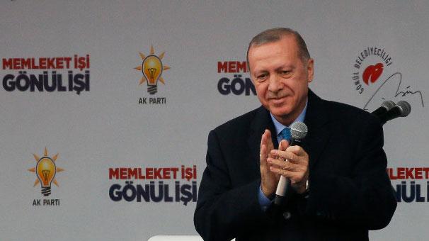 Cumhurbaşkanı Erdoğan'dan MHP'ye tebrik mesajı