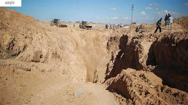 Gazze ile Mısır sınırındaki tünelde iki Filistinli öldü