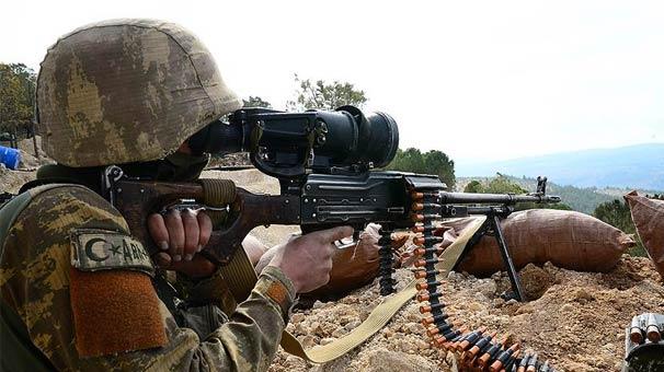 Irak'ın kuzeyine operasyon: 2 terörist etkisiz hale getirildi