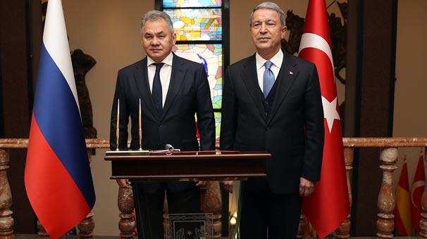 Milli Savunma Bakanlığı'ndan Ankara'daki görüşmeyle ilgili açıklama