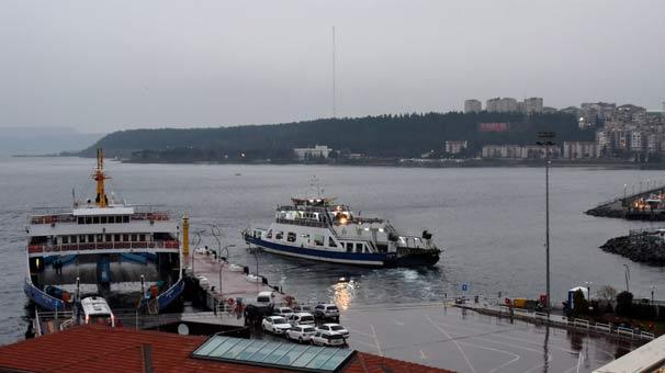 Son dakika | Kuzey Ege'de feribot seferlerine fırtına engeli