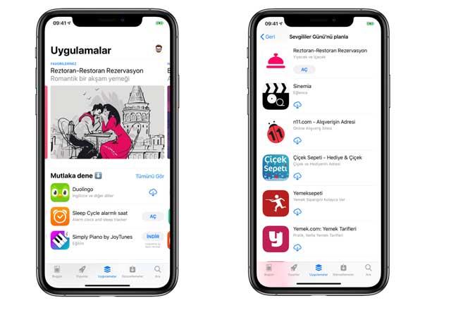 Harika Sevgililer Günü önerileri için App Store'a göz atın!