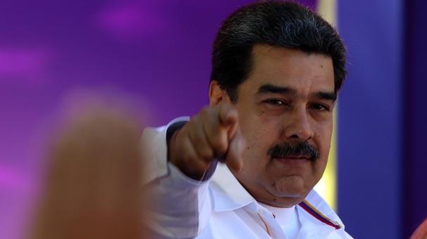 Maduro müjdeyi verdi! Başarısız oldu!