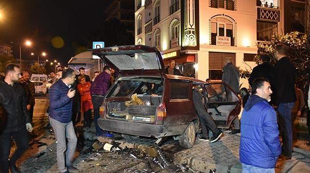 Samsun'da zincirleme trafik kazası: Ağır yaralılar var