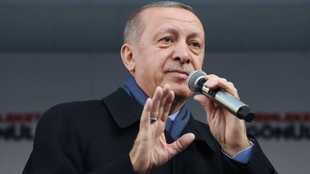 Cumhurbaşkanı Erdoğan Isparta'da konuşuyor