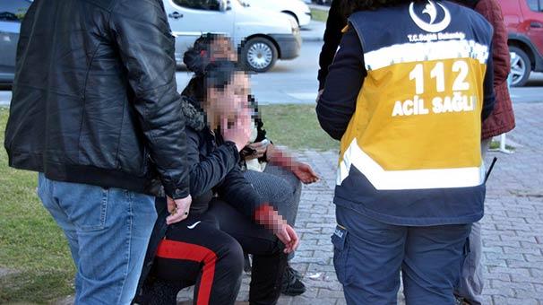 Evden kaçan2 kız, bileklerini keserken bulundu