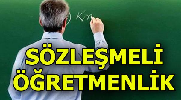 MEB müjdeyi verdi: 20 bin sözleşmeli öğretmen alımı...