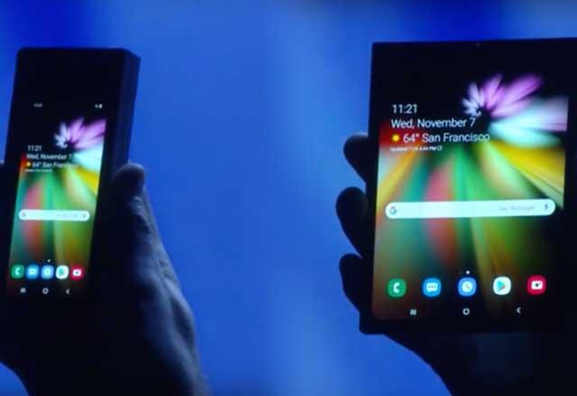 Samsung'un katlanabilir telefonunun detayları ortaya çıktı