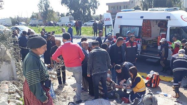 Mersin'de otobüs devrildi! 3 ölü, 26 yaralı...