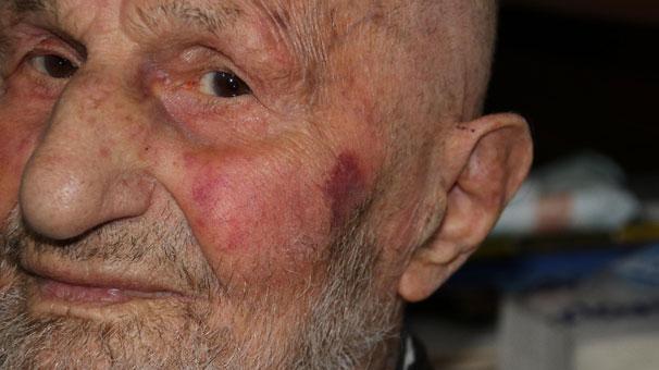 95 yaşındaki dedeye büyük şok!