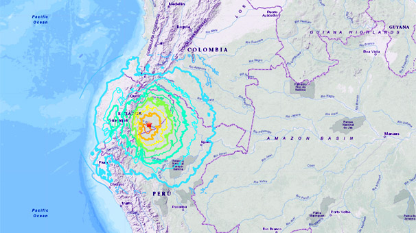 Son dakika... 7.7'lik deprem!