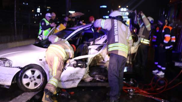 Son dakika | İstanbul'da 11 araç birbirine girdi! Ölü ve yaralılar var...