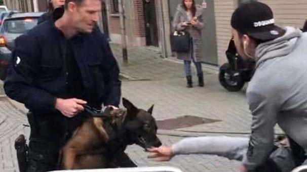 Belçika'da polisten Türk öğrencilere sert müdahale!