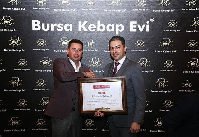Bursa Kebap Evi Ortadoğu hedefinde ilk adımı İran'la attı