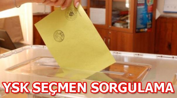 31 Mart seçimlerinde nerede oy kullanacağım? YSK seçmen sorgulama