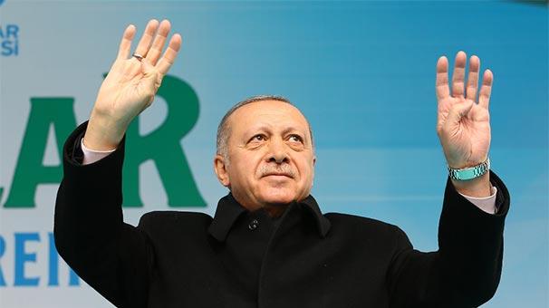 Cumhurbaşkanı Erdoğan: Aşkınan çalışan yorulmaz