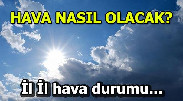 Hafta sonu hava durumu nasıl olacak? İstanbul, İzmir, Ankara...