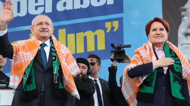 Kılıçdaroğlu ve Akşener'in ortak mitinglerine yeni iller eklendi