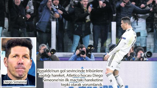 Ronaldo'dan büyülü gece
