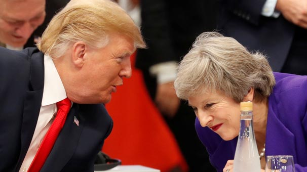 Trump'tan itiraf: May'e söyledim ama...