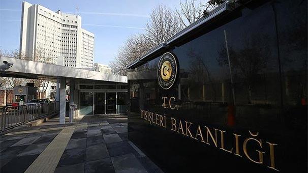 Son dakika... Türkiye'den sert tepki: Gerçek dışı bilgi içeriyor