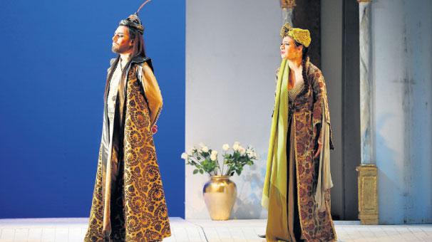 'Yıldırım Bayezid' Süreyya Operası'nda