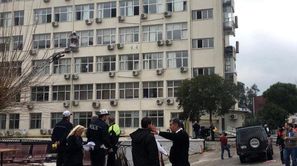 İzmir'de hastanede korkutan yangın