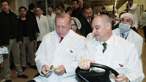 Cumhurbaşkanı Erdoğan her detayı tek inceledi!