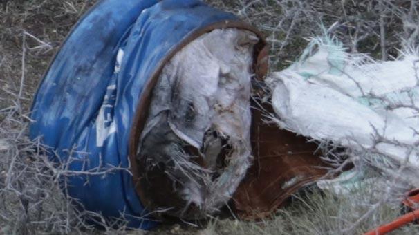 Yozgat'ta korkunç olay! Metal varilde kan izleri bulundu, içine bakıldığında...