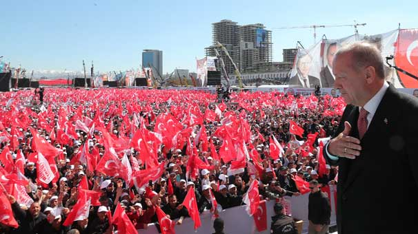 Cumhurbaşkanı Erdoğan mitinge katılanların sayısını açıkladı! Ankara'da tarihi gün