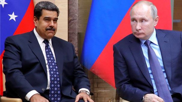 Dünyayı sarsan bomba iddia! Rusya, Venezuela'ya asker gönderdi