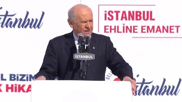 MHP lideri Bahçeli'den sert sözler: Gelin de görelim