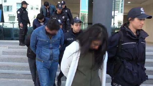 Bursa'da yakalandılar! Gazetecileri görünce de…